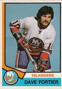 1974-75 O-Pee-Chee #382 Dave Fortier RC