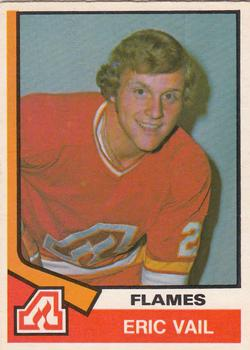 1974-75 O-Pee-Chee #391 Eric Vail RC