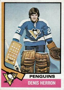1974-75 Topps #45 Denis Herron RC