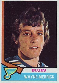 1974-75 Topps #66 Wayne Merrick RC