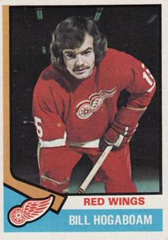 1974-75 Topps #116 Bill Hogaboam