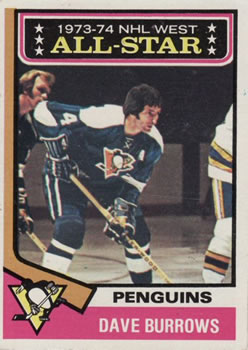 1974-75 Topps #137 Dave Burrows AS