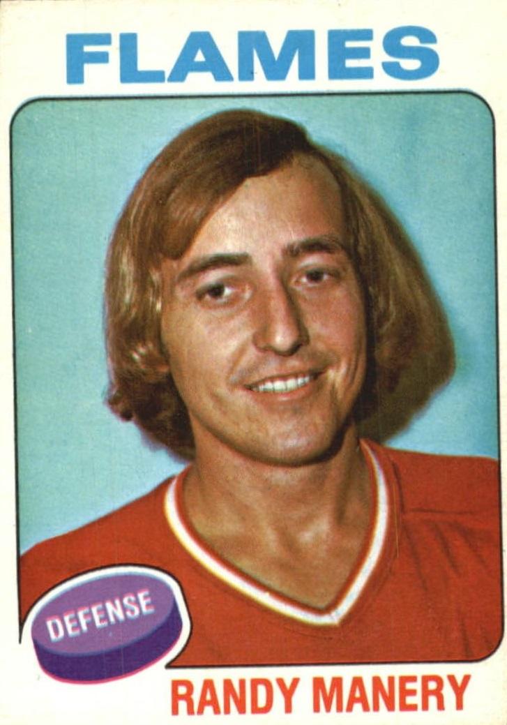 1975-76 O-Pee-Chee #44 Randy Manery