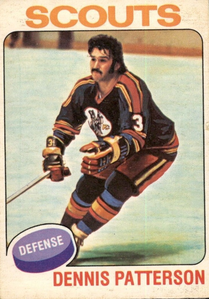 1975-76 O-Pee-Chee #51 Dennis Patterson RC