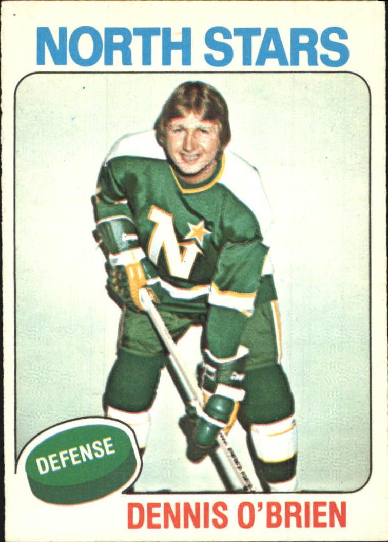 1975-76 O-Pee-Chee #53 Dennis O'Brien