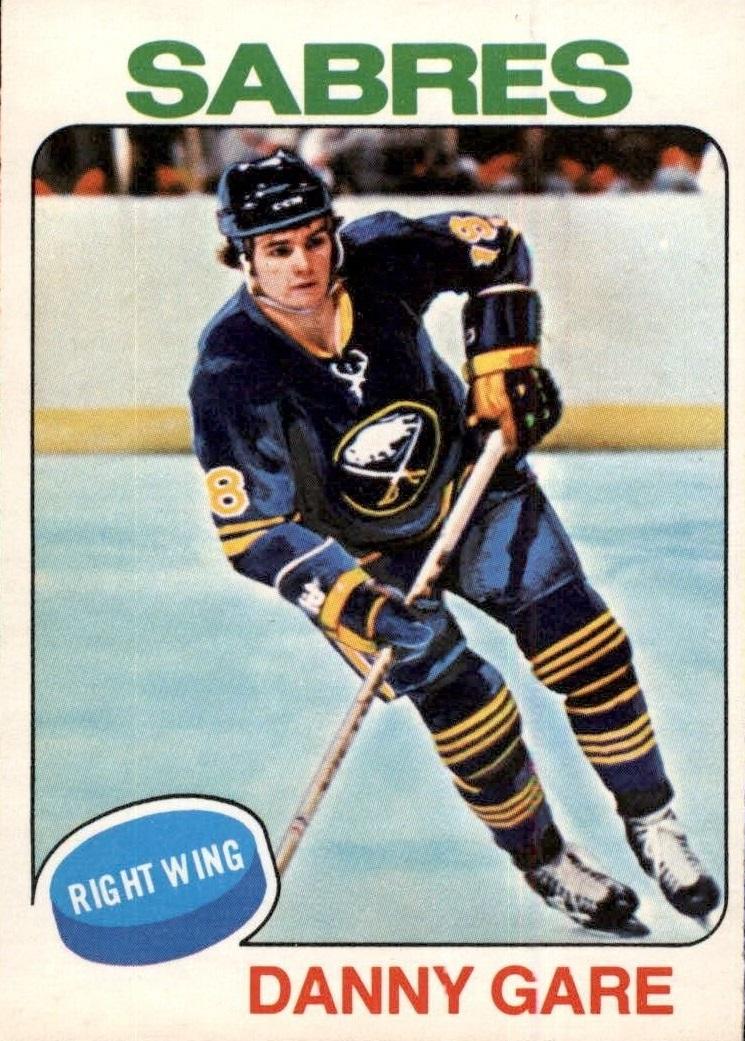 1975-76 O-Pee-Chee #64 Danny Gare RC