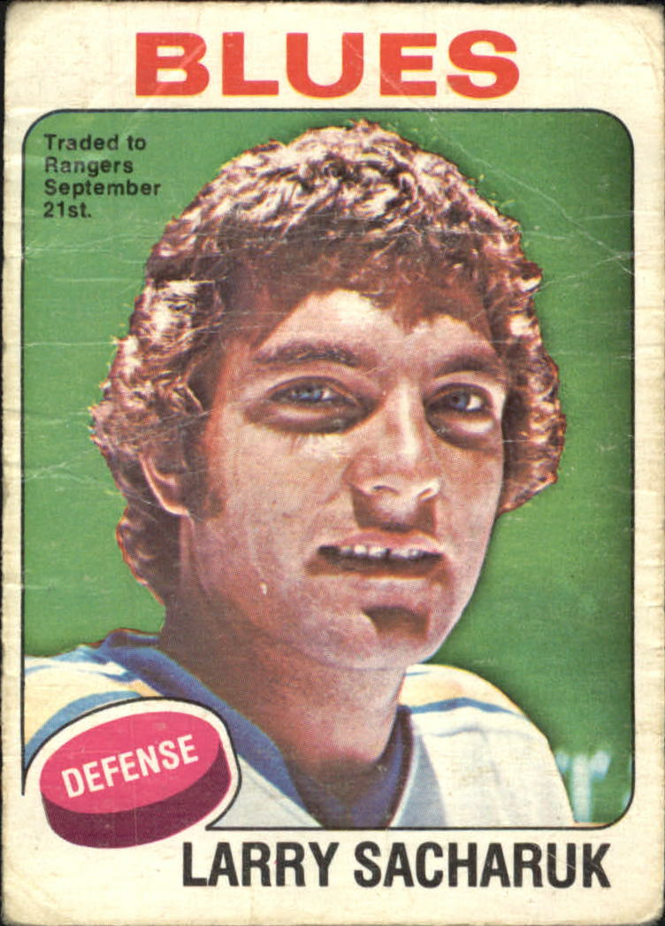 1975-76 O-Pee-Chee #76 Larry Sacharuk RC