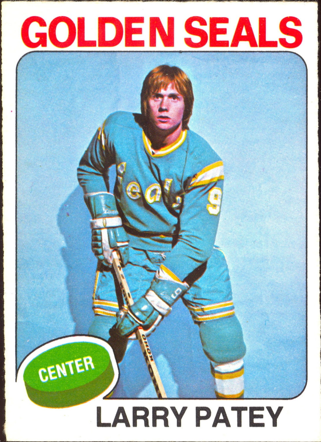 1975-76 O-Pee-Chee #137 Larry Patey RC