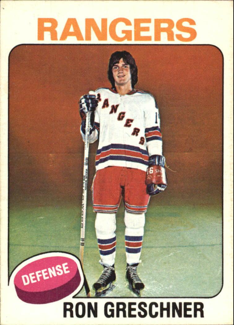 1975-76 O-Pee-Chee #146 Ron Greschner RC