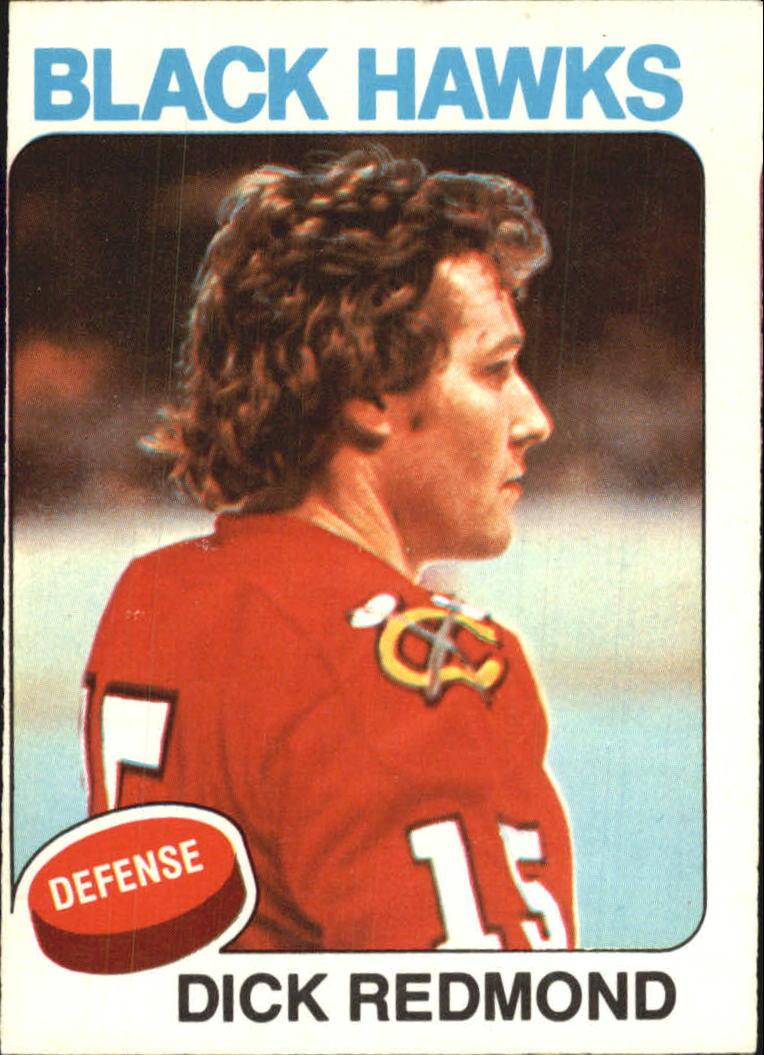 1975-76 O-Pee-Chee #218 Dick Redmond