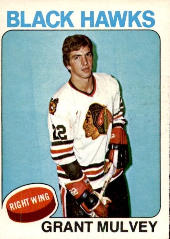 1975-76 O-Pee-Chee #272 Grant Mulvey RC