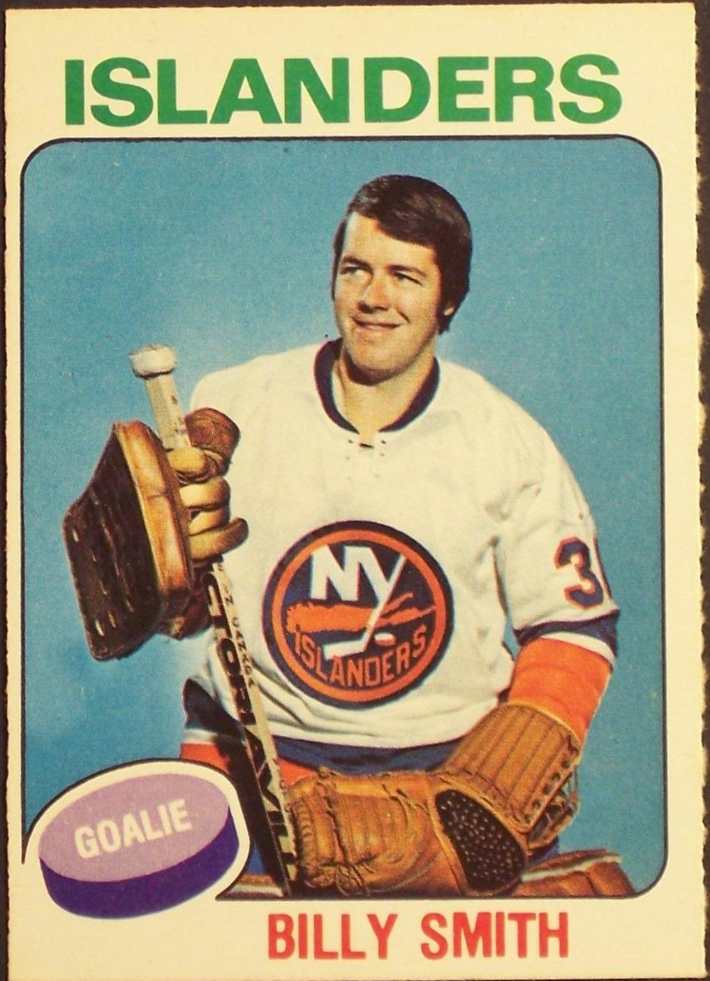 1975-76 O-Pee-Chee #372 Billy Smith