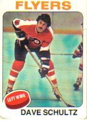 1975-76 Topps #147 Dave Schultz