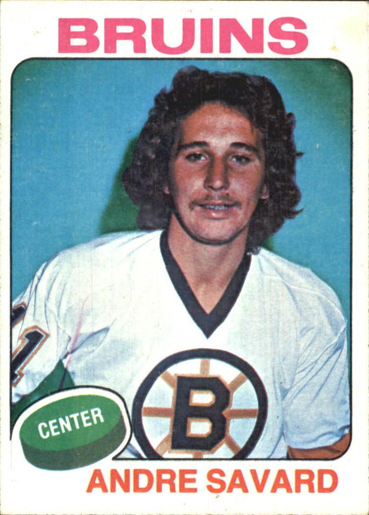 1975-76 Topps #155 Andre Savard