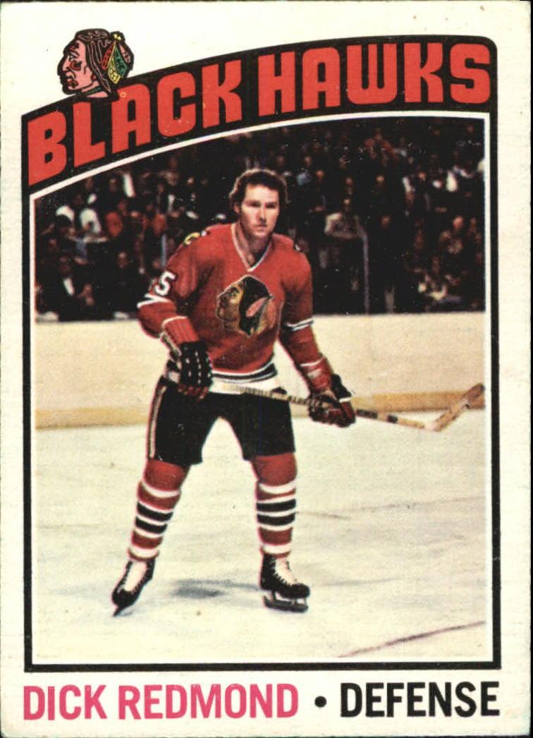 1976-77 O-Pee-Chee #12 Dick Redmond