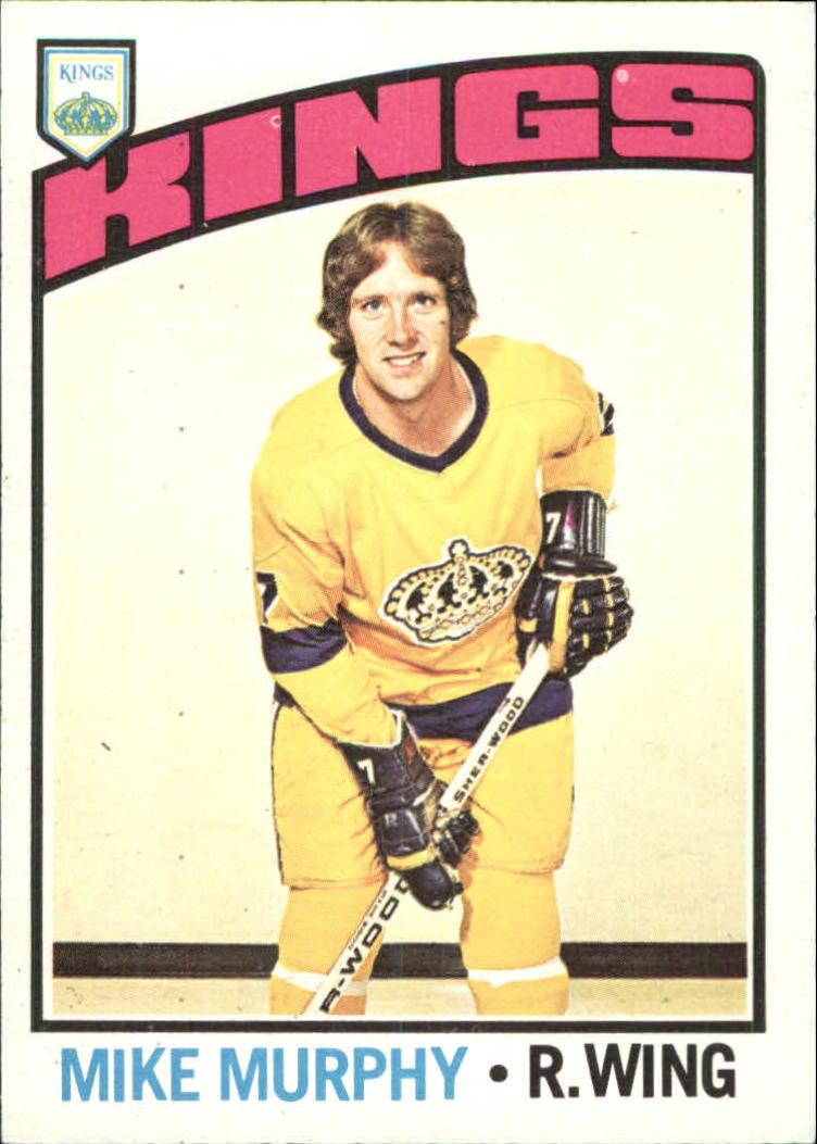1976-77 O-Pee-Chee #21 Mike Murphy