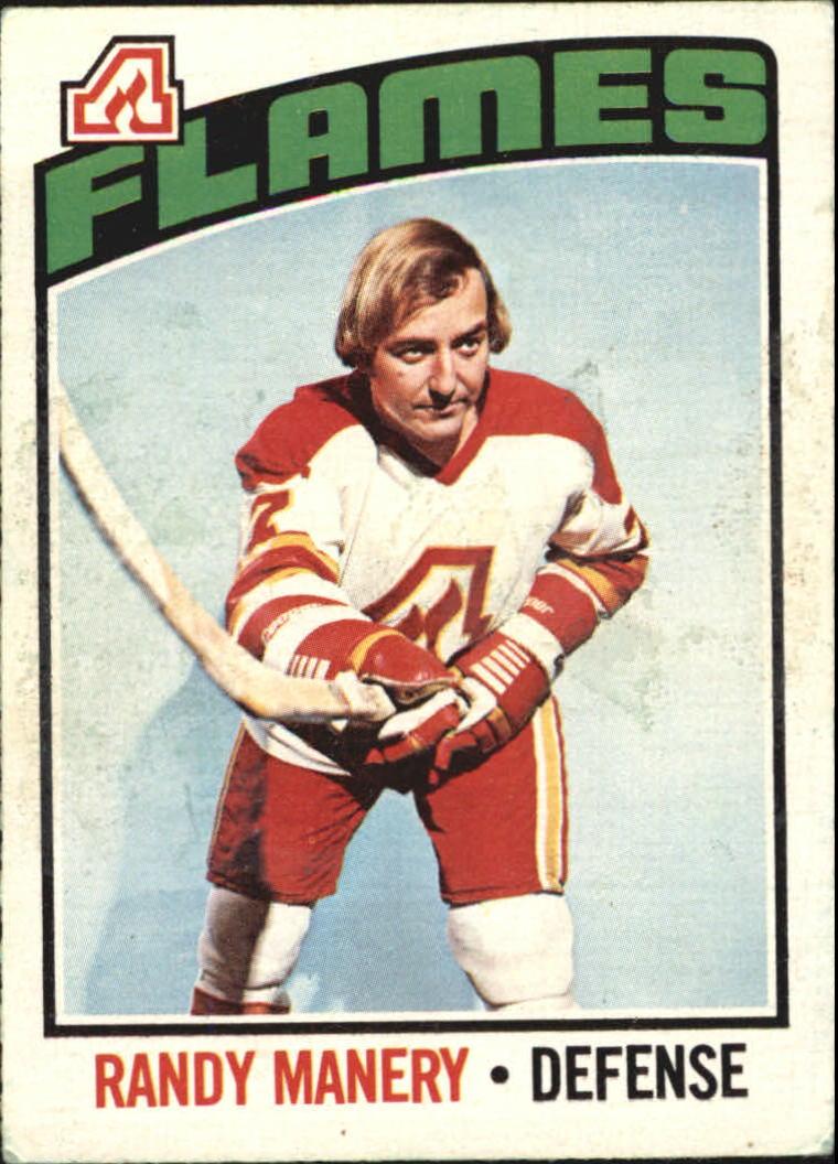 1976-77 O-Pee-Chee #24 Randy Manery
