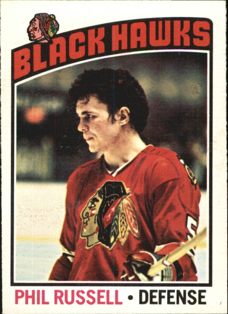 1976-77 O-Pee-Chee #31 Phil Russell