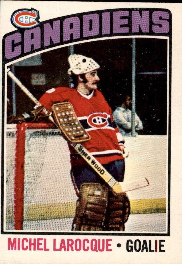 1976-77 O-Pee-Chee #79 Michel Larocque