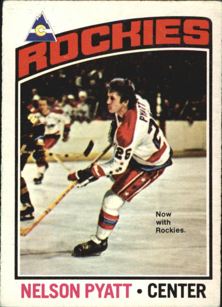 1976-77 O-Pee-Chee #98 Nelson Pyatt RC