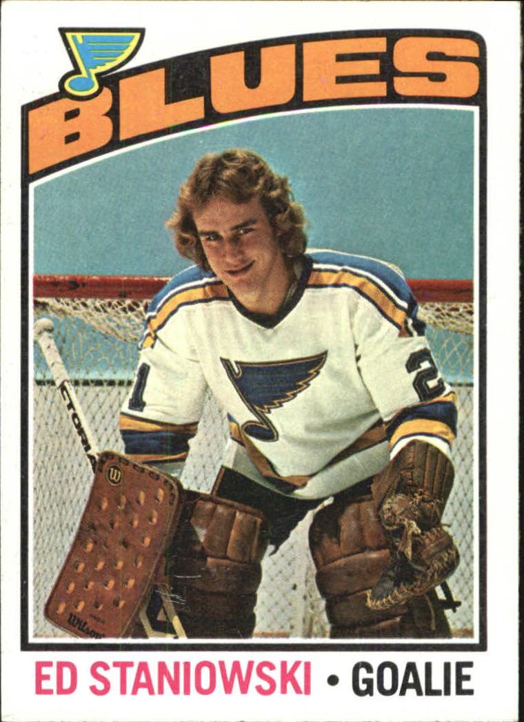 1976-77 O-Pee-Chee #104 Ed Staniowski RC