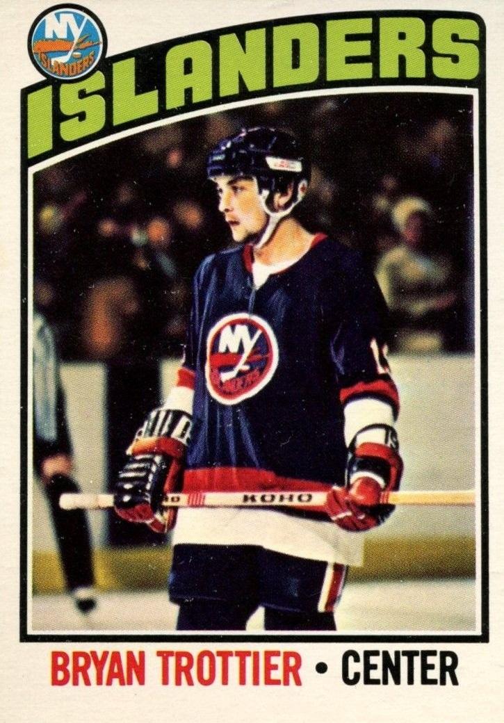 1976-77 O-Pee-Chee #115 Bryan Trottier RC
