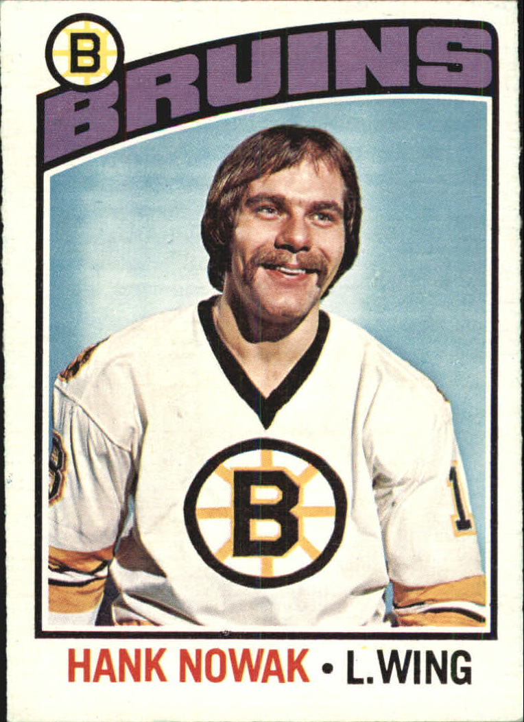 1976-77 O-Pee-Chee #224 Hank Nowak RC