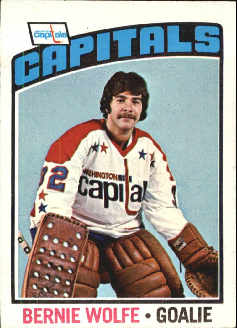 1976-77 O-Pee-Chee #227 Bernie Wolfe RC