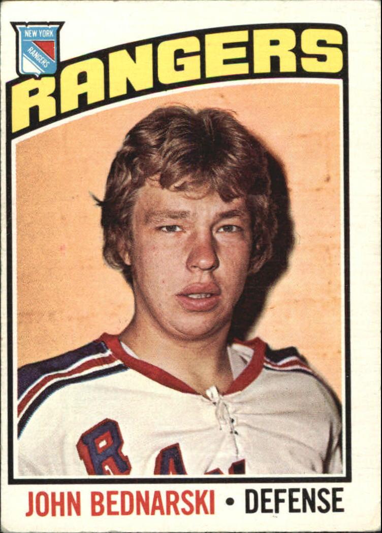 1976-77 O-Pee-Chee #231 John Bednarski RC