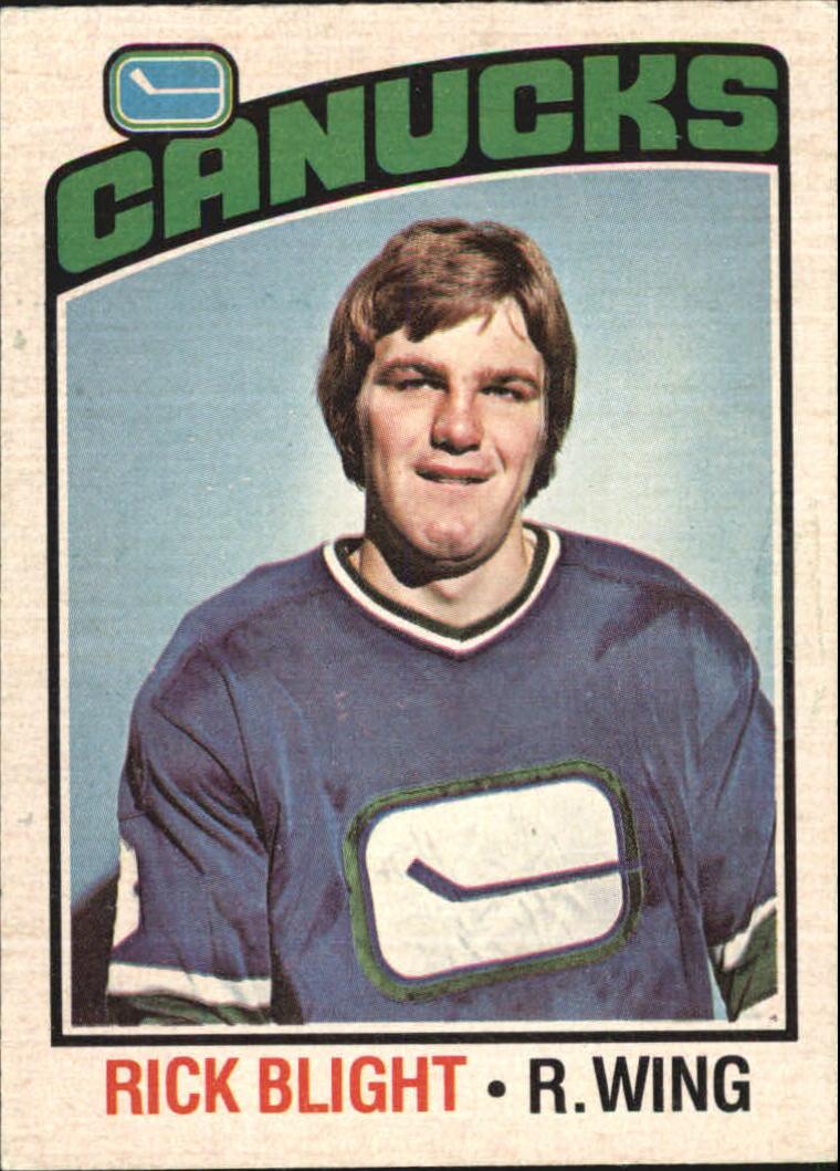 1976-77 O-Pee-Chee #238 Rick Blight RC