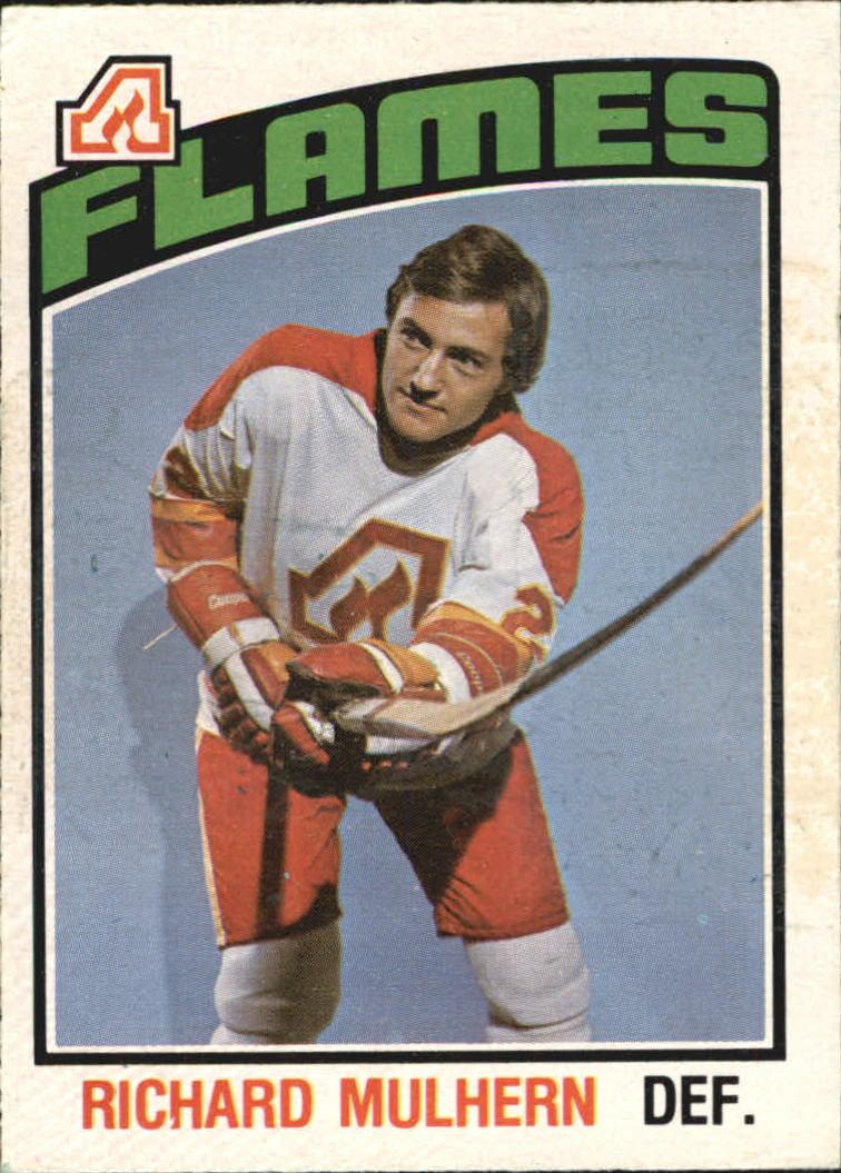 1976-77 O-Pee-Chee #265 Richard Mulhern RC