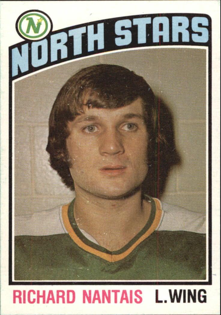 1976-77 O-Pee-Chee #357 Richard Nantais RC