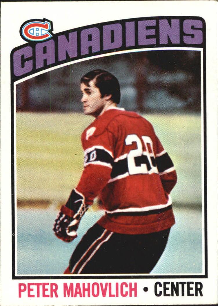 1976-77 Topps #15 Peter Mahovlich