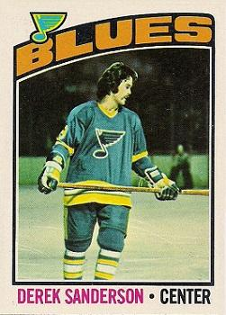 1976-77 Topps #20 Derek Sanderson