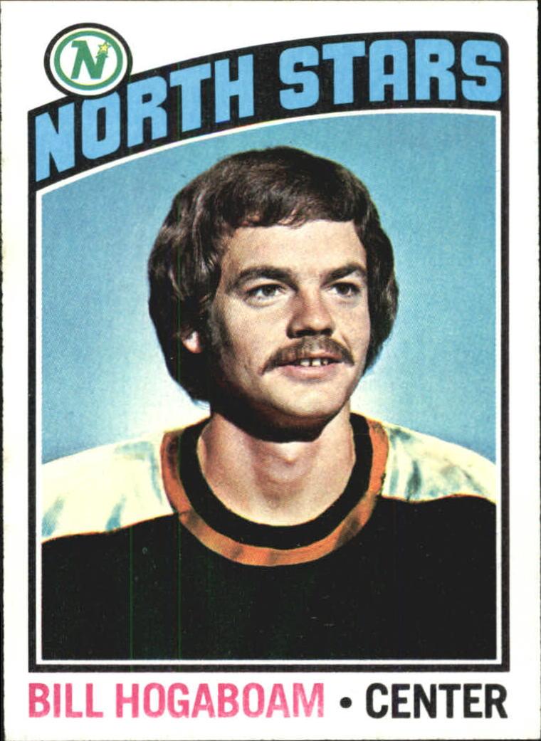 1976-77 Topps #73 Bill Hogaboam