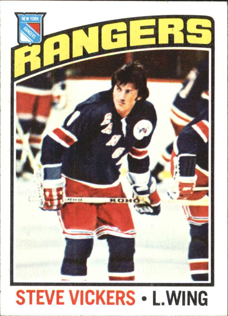1976-77 Topps #75 Steve Vickers