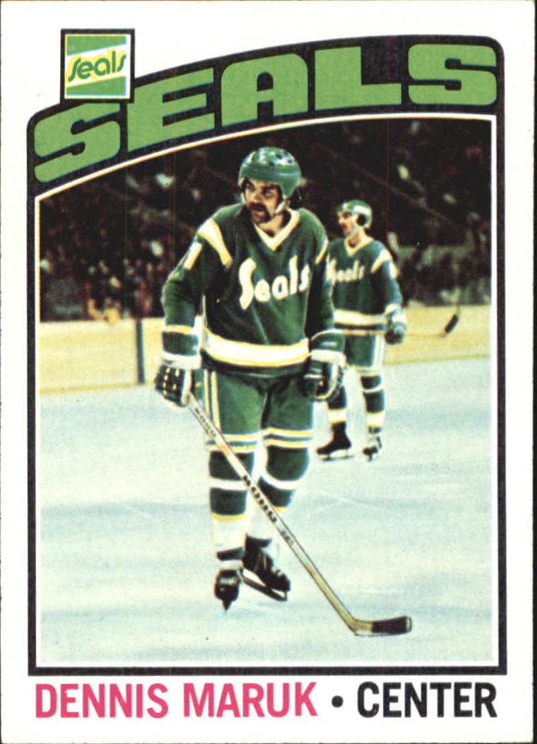 1976-77 Topps #86 Dennis Maruk RC