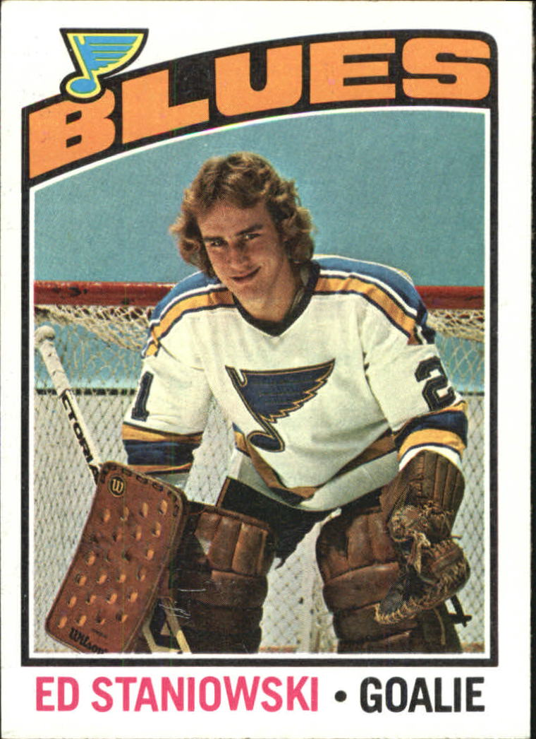 1976-77 Topps #104 Ed Staniowski RC