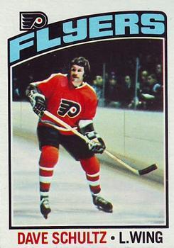 1976-77 Topps #150 Dave Schultz