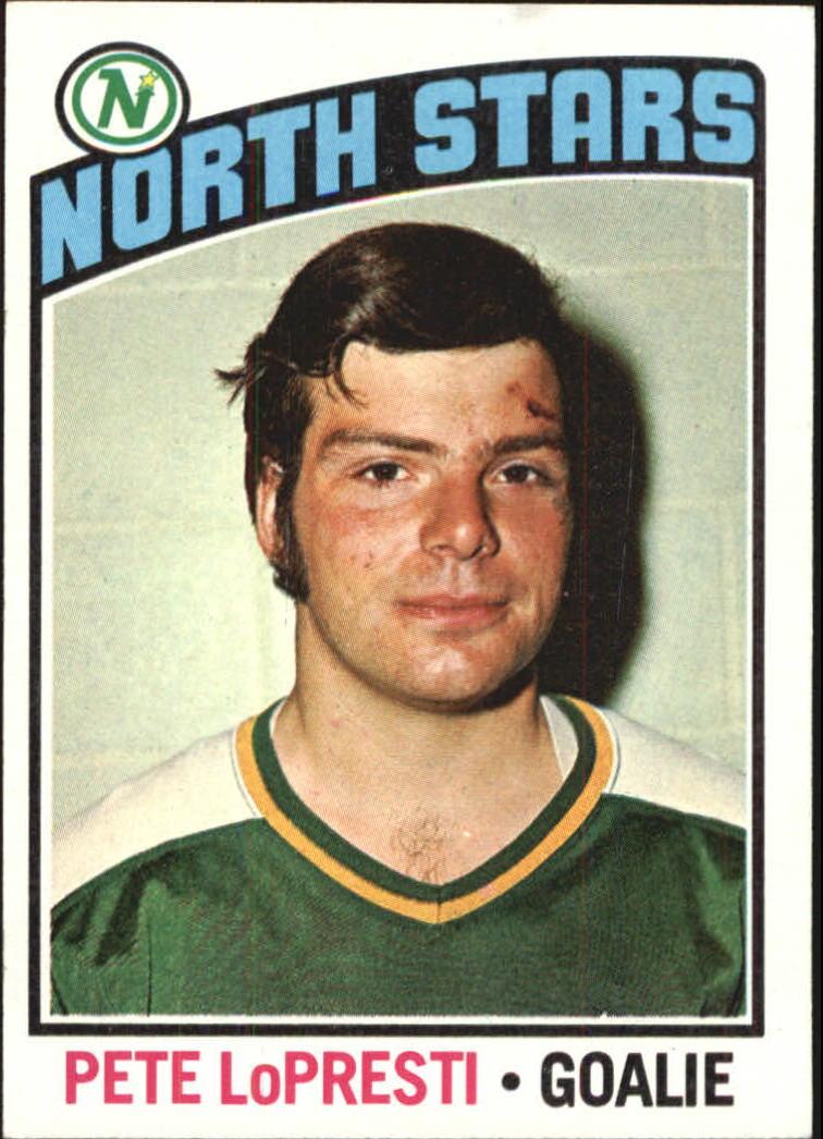 1976-77 Topps #184 Pete Lopresti RC