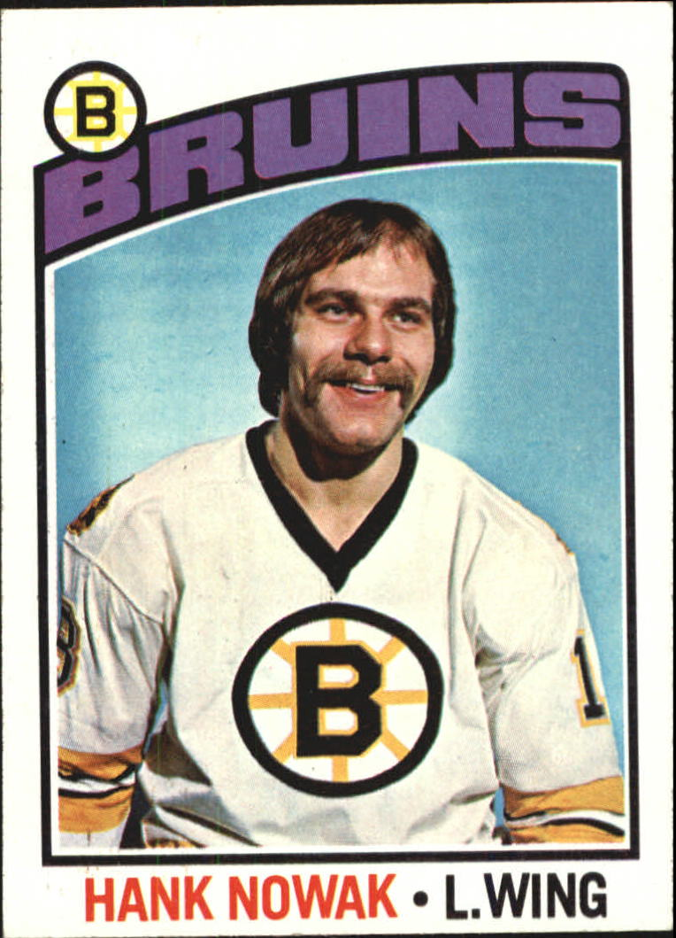 1976-77 Topps #224 Hank Nowak RC