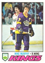 1977-78 O-Pee-Chee #22 Mike Murphy