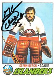1977-78 O-Pee-Chee #50 Glenn Resch