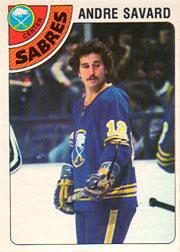 1977-78 O-Pee-Chee #118 Andre Savard
