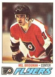 1977-78 O-Pee-Chee #121 Mel Bridgman
