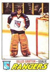1977-78 O-Pee-Chee #207 Gilles Gratton