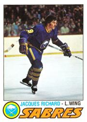 1977-78 O-Pee-Chee #366 Jacques Richard
