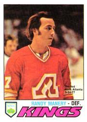 1977-78 O-Pee-Chee #389 Randy Manery