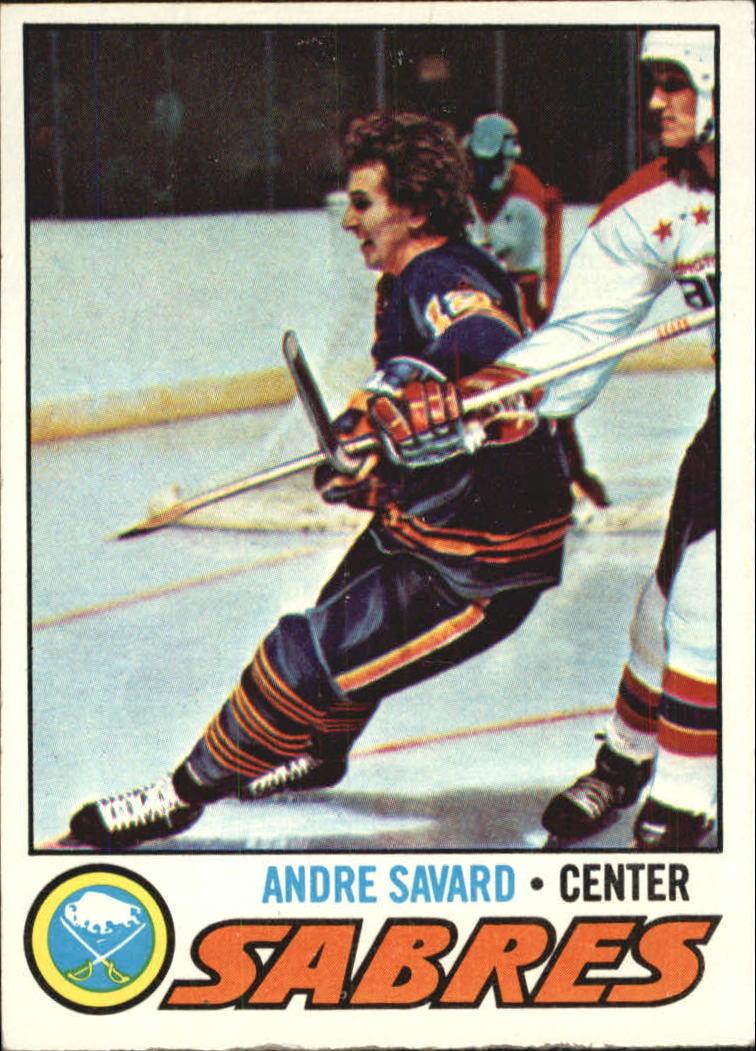 1977-78 Topps #118 Andre Savard