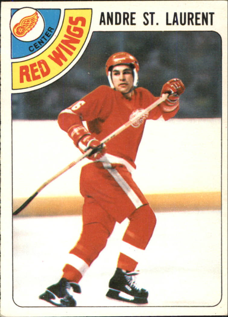 1978-79 O-Pee-Chee #32 Andre St.Laurent